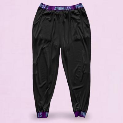 Jogger #norules negro