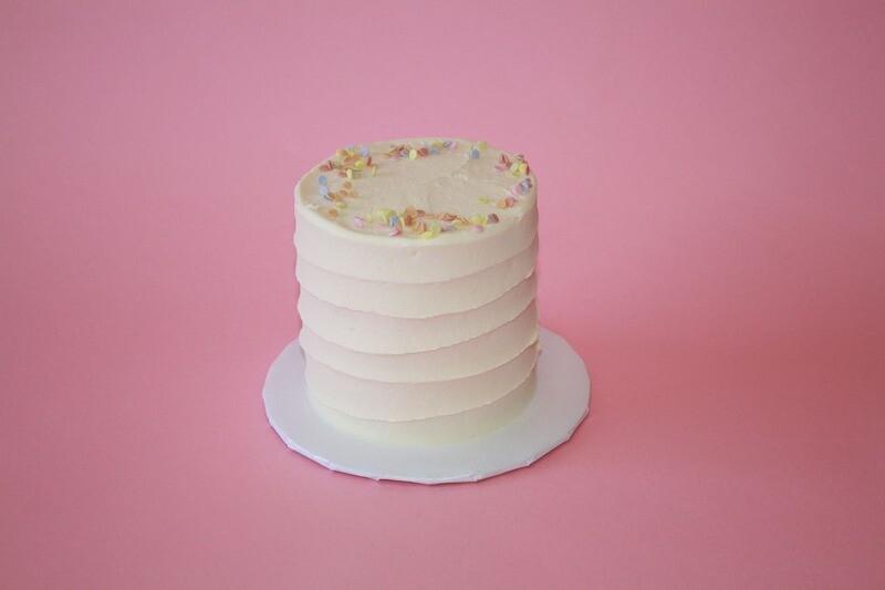 """4"""" Funfetti Cake"""