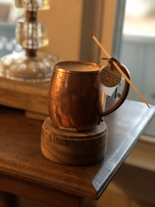Copper Mug Candle - Unscented