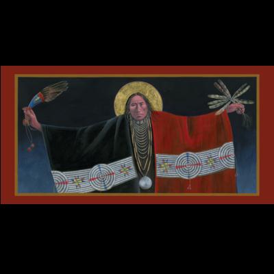 Lakota Angel of the Annunciation II #18