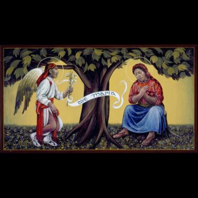 Guatemalan Annunciation II #41