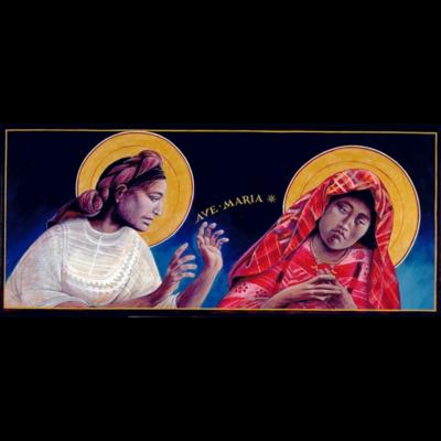 Guatemalan Annunciation I #48