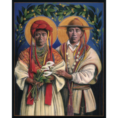 Guatemalan Marriage of Mary and Joseph #49