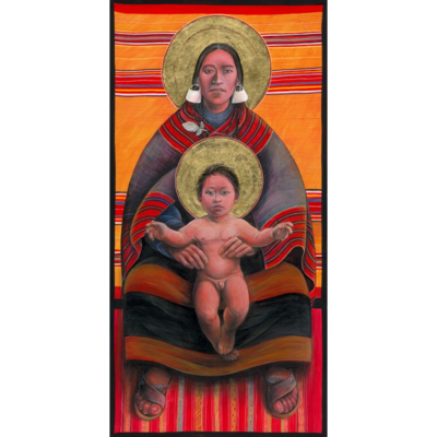 Aymara Virgin Mother and Child II #10