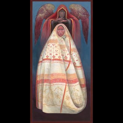 Mi'kmaq Annunciation #13