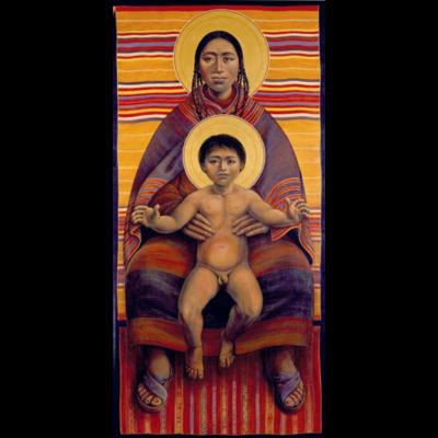 Aymara Virgin Mother and Child I #64