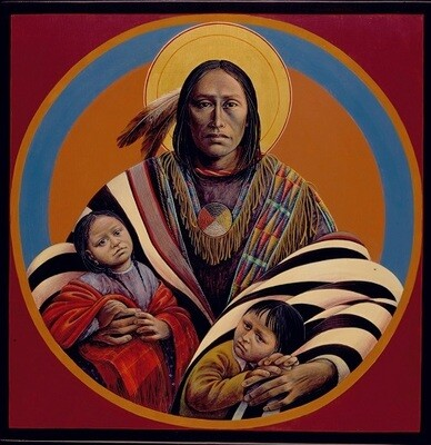 Jesus with Children I #55
