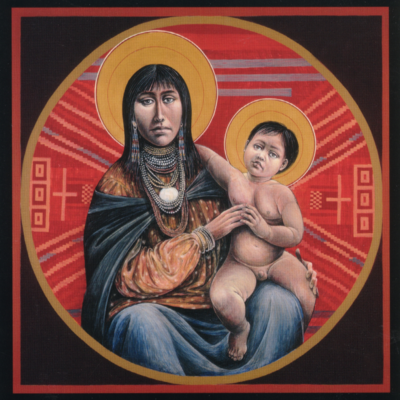 Apache Virgin and Child #85