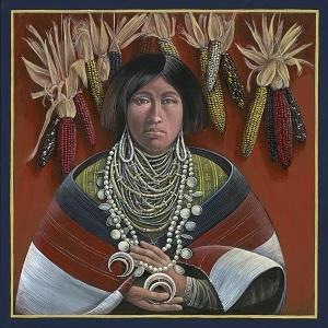 Zuni Corn Maiden #27