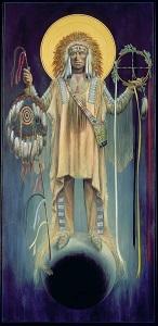 Lakota St. Michael Warrior