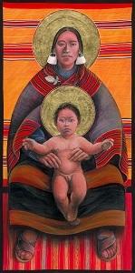 Aymara Mother and Child