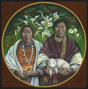 Guatemalan Holy Family