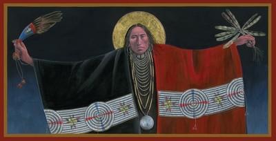 Lakota Angel of the Annunciation II