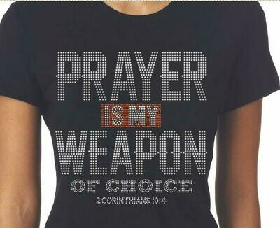 Prayer Weapon of Choice Tee