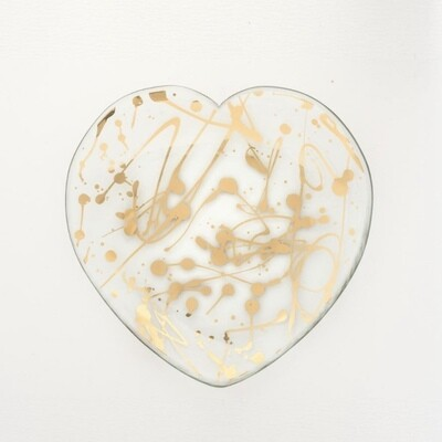 7in Heart Plate JX100G