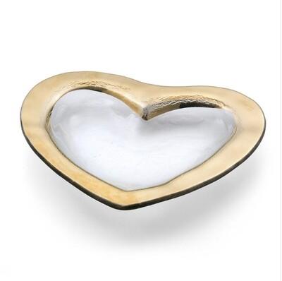 """Roman Antique Gold Heart 8"""" (CSH101G)"""