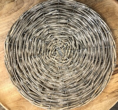 Rattan Charger Natural 14in