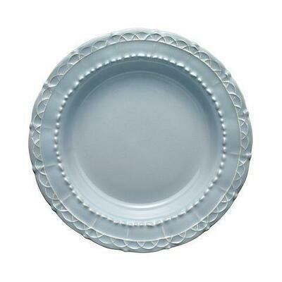 Historia Pasta/Rim Soup Bowl Blue Cashmere