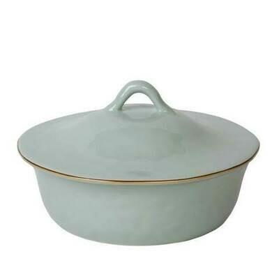 Round Covered Casserole