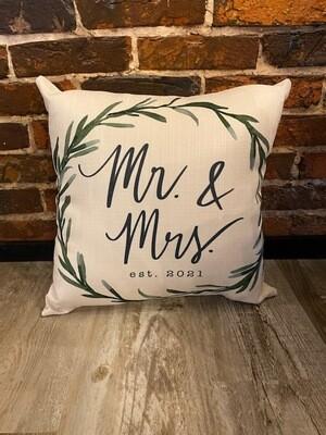 Mr & Mrs Est 2021
