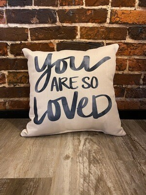 You are so Loved-Gray Script
