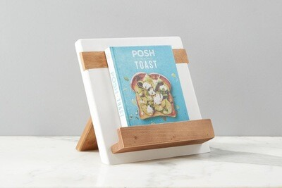 White Mod IPAD/Cookbook Holder