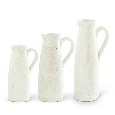 White Pitcher/Large