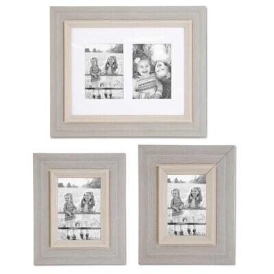 4x6 Wooden Gray Frame