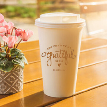 Grateful Heart To-Go Cups