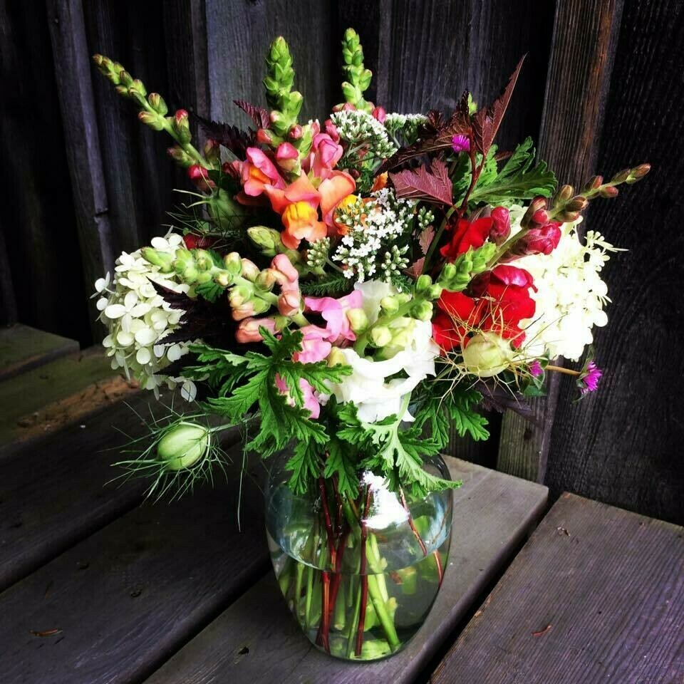 Late Summer 7-week Flower Share - DELIVERY Option