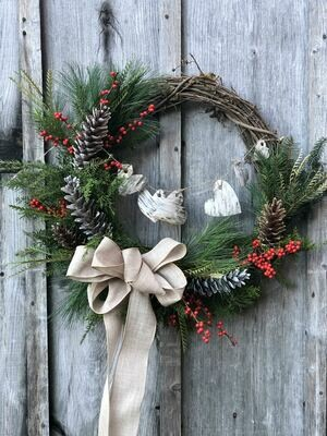 Winter Wreath Workshop at Tiffany Hilton's Studio, Sunday, Nov. 29, 11 a.m.