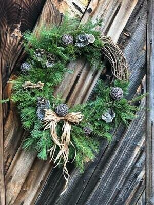 Custom Winter Wreath