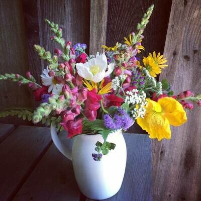 2021 Monthly Summer Bouquet share! (Pick up at Farm)