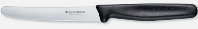 Steak knife serrated