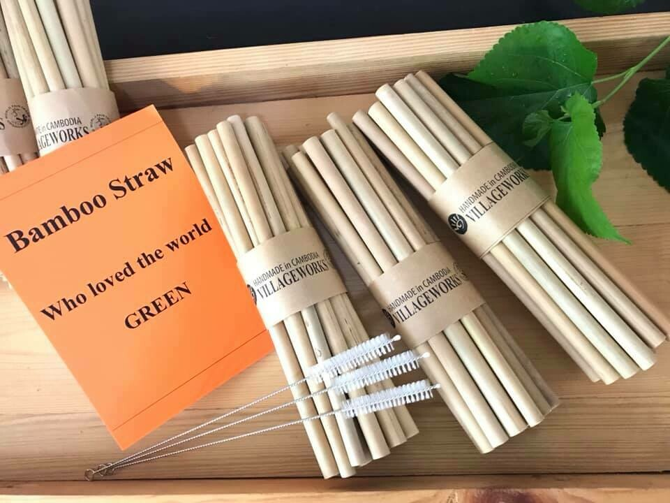 Reusable Bamboo Straw/HH1905