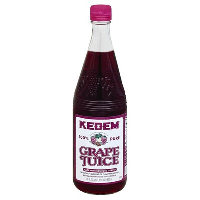 Concord Grape Juice (22oz.) Kedem