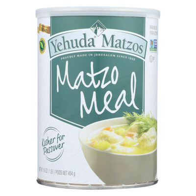 Matzah Meal Canister (16oz) Yehuda