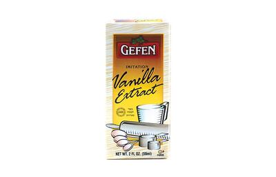 Imitation Vanilla Extract | 4oz | Gefen