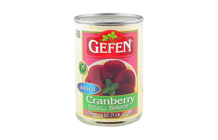 Jellied Cranberry Sauce | 16oz | Gefen, Glicks