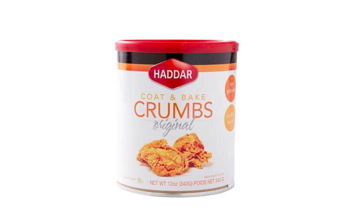 Coat N Bake Crumbs - Original (12oz) Haddar