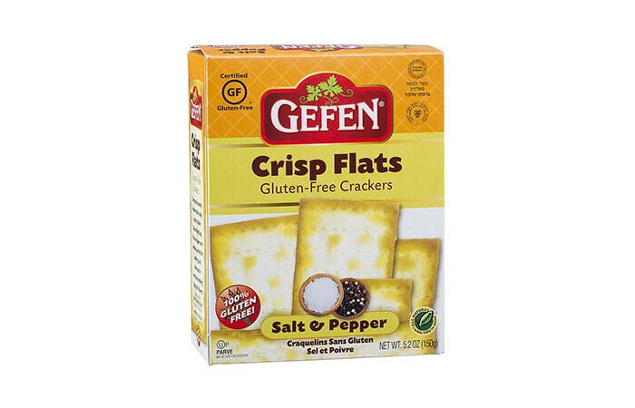G/F Crisp Flats - Salt & Pepper (5.2oz) Gefen