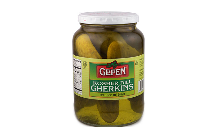 Kosher Dill Gherkins (32oz.) Gefen