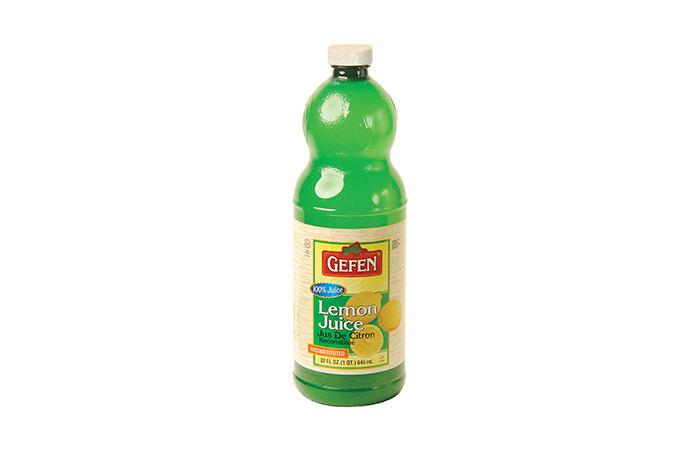 Lemon Juice (32oz) Gefen