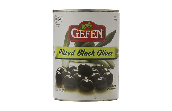 Pitted Black Olives (19oz) Gefen