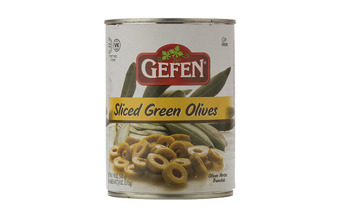 Sliced Green Olives (19oz) Gefen