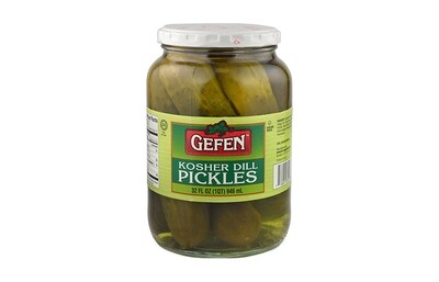 Dill Pickles (32oz) Gefen