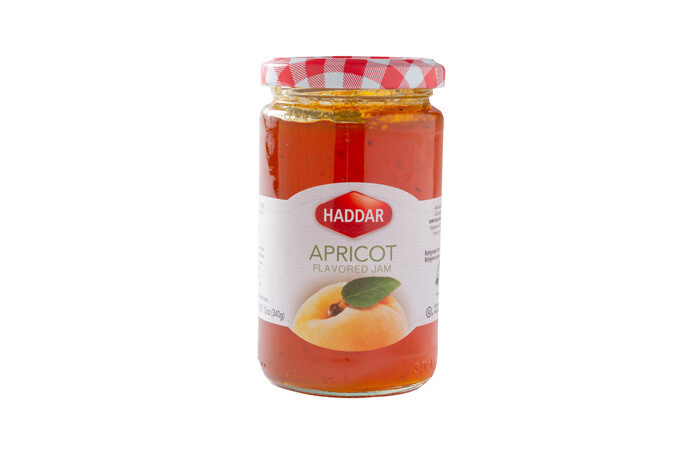 Apricot Preserves (12oz) Haddar