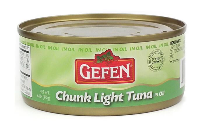 Chunk Light Tuna in Oil (6oz) Gefen