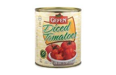 Diced Tomatoes (28oz) Gefen