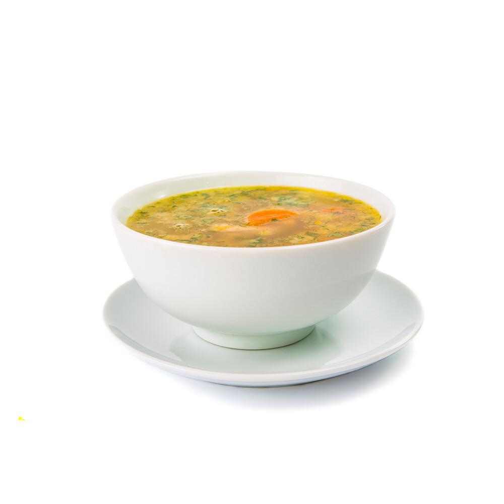 Chicken Soup w Matzah Ball 16oz.